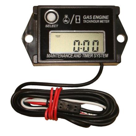 Time & RPM motor Meter egnet For 2 & 4 taktsmotorer