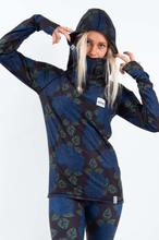 Icecold Hood Top W Sininen XS