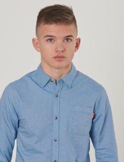 Scotch & Soda, Slim fit oxford shirt, Blå, Skjorter till Dreng, 10 år