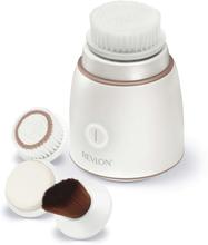 Revlon Sonisk ansiktsrengöringsborste set vit RVSP3538E