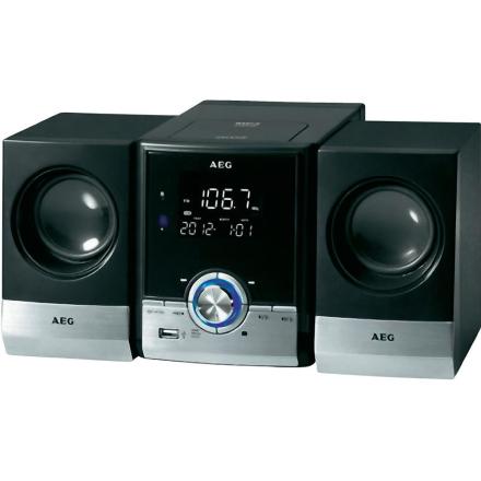 Kompaktstereo AEG MC 4461 BT Svart