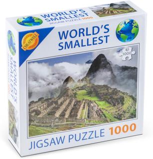 Världens Minsta 1000-bitars Pussel Machu Picchu