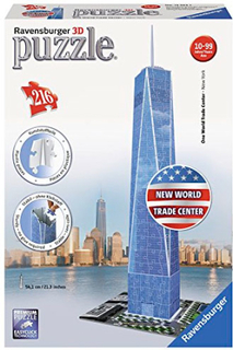 One World Trade Center 3D 216 biter Ravensburger Puzzle Puslespill