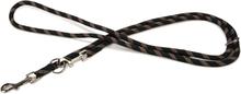Beeztees Hundkoppel nylon svart 240x1,3 cm 744014
