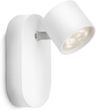 Philips myLiving LED-spotlight Star 4,5 W vit 562403116