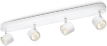 Philips myLiving LED-spotlight Star 4x4,5 W vit 562443116