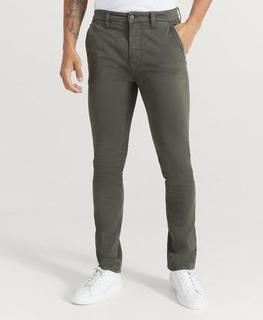 Nudie Jeans Bukse Slim Adam Bunker Grønn
