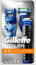 Gillette Barberhøvel Styler Razor 1upp Grå