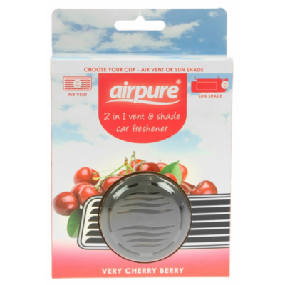 Airpure 2-in-1 Auto-Erfrischer Very Cherry Berry 1 stk