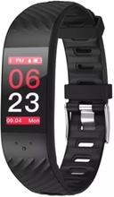 eStore P4 Aktivitetsarmband med blodtrycks- och pulsmätare - Svart