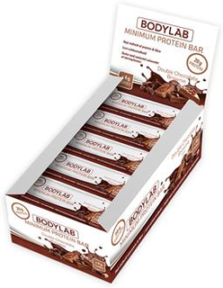 Den ultimata low carb-proteinbaren20 gram protein, 21 gram kostfiber och under 4,1 gram carbsMed minimalt antal ingredienser
