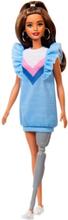 Barbie Fashionistas Original Docka med Ben Protes