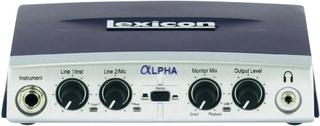 Ljud-gränssnitt Lexicon Alpha Monitor-Controlling