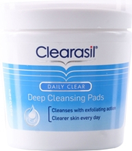 Clearasil Daily Clear - Deep Cleansing Pads 65 stk/pakke