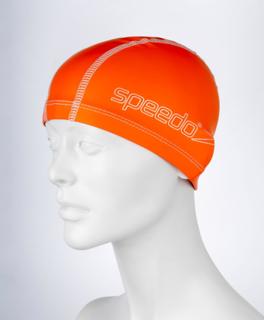 Speedo Junior takt simning Cap - Orange