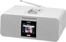 AEG internetradio IR 4468 BT 25,5x18,5x11 cm hvid