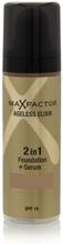 Max Factor Ageless Elixir 2 in 1 SPF15 - 45 Warm Almond 30 ml