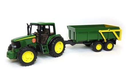 Bruder - John Deere Traktor 6920 with Trailer (2058)