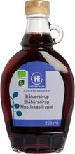 Urtekram Bio Blaubeer-Sirup 250 ml