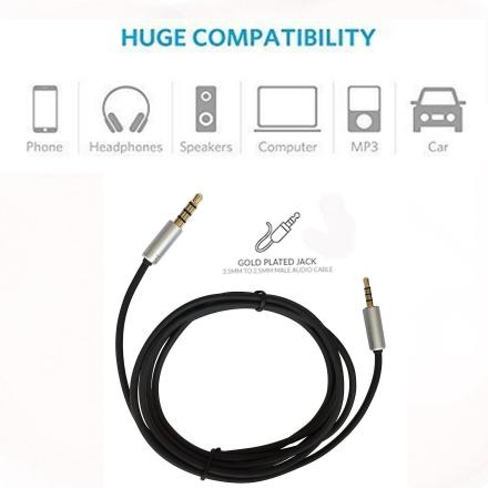 AKG 1,5 M audiokabel - AKG Y45BT Y50 Y40 Y55 k490 NC K545 hodetelef...