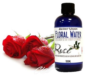 Steg blomstermotiver vand naturlige hud Toner 100ml
