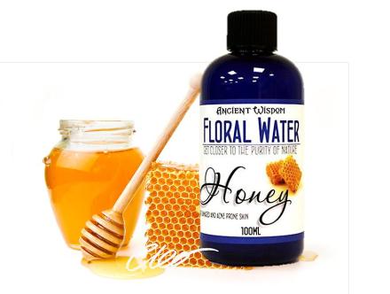 Honning blomster vand naturlige hud Toner 100ml