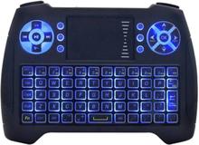 eStore T16 Trådløst mini-tastatur med touchpad