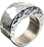 Seriously Silver Solid Silver Arch Ring Sterling s