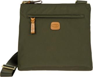 BRIC'S X-Bag skulderveske i nylon, Grønn