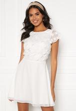 BUBBLEROOM Fioli flower dress White 34