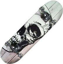 Skateboard TRIBE PRO WHITE SKULL - maple