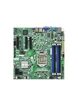 X9SCL Bundkort - Intel C202 - Intel LGA1155 socket - DDR3 RAM - Micro-ATX