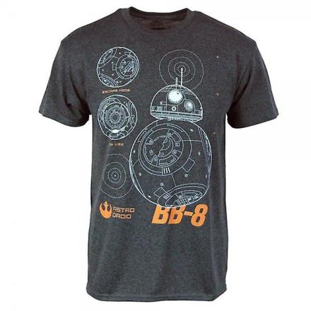 Star Wars Herre Star Wars Episode VI kraften, der vækker BB8 Droid ... - Fruugo