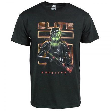 Star Wars Herre Star Wars Rogue en Elite Enforcer T Shirt sort Xxl ... - Fruugo