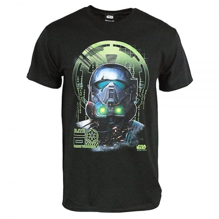 Star Wars Herre Star Wars Rogue en Death Knight T Shirt sort Medium... - Fruugo