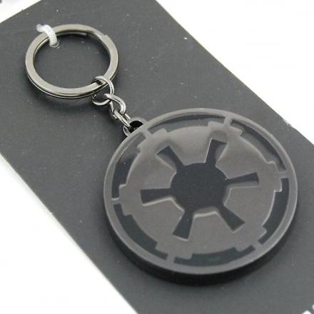 Star Wars Star Wars Imperial sort/rødgods nøglering - Fruugo