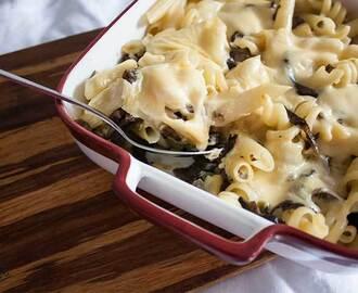 recipe: zapiekanka makaronowa z mięsem mielonym i pieczarkami [36]