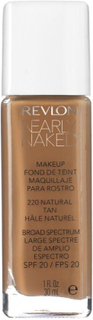 Revlon Nearly Naked Nude Makeup Foundation Color 220 Natural Tan