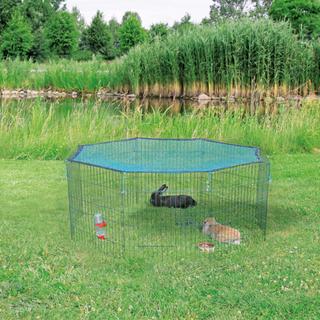 TRIXIE udendørs dyreindhegning med beskyttelsesnet 60x57 cm grøn 62411
