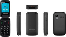Mobiltelefon BRIGMTON BTM-5 2,4'' TFT Bluetooth FM Svart