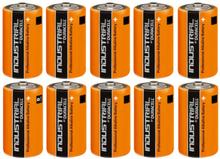 Duracell Industrial C Alkaline Batterier - 10 stk.