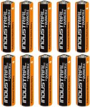 Duracell Industrial AAA Alkaline Batterier - 10 stk.