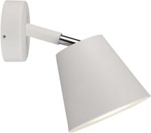 Nordlux IP S6 væglampe i hvid