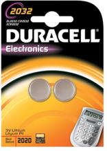 Duracell Electronics CR2032 Lithium Batteri - 2 stk.