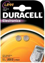 Duracell Electronics LR44 Alkaline Batteri - 2 stk.