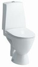 Laufen PRO-N toalett m/åpen S-lås, stor fot & clean coat, hvit