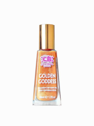 Sololje - Transparent Cocoa Brown Golden Goddess Oil 50 ml
