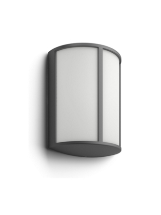Stock Wall Lantern Anthracite 1x6W