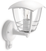 Creek Wall Lantern White 1x60W