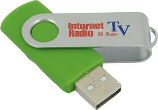 Internett TV og Radio USB dongle (opptil 5000 tv-kanaler)